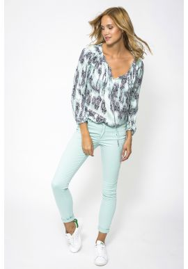 Jeans Lou Turquoise