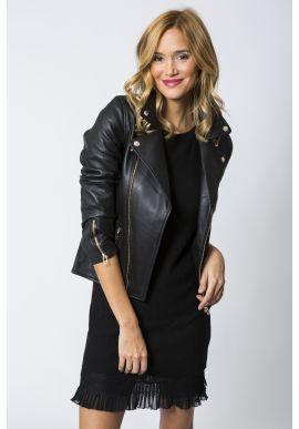 Perfecto Vandal Leather Black